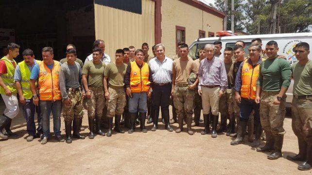 Emergencia hídrica: la provincia continúa asistiendo a las localidades afectadas del norte provincial