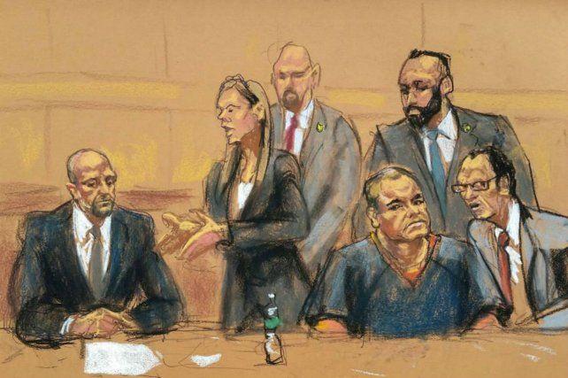 La joven contó ante los fiscales detalles de su relación con el detenido líder del cártel de Sinaloa.