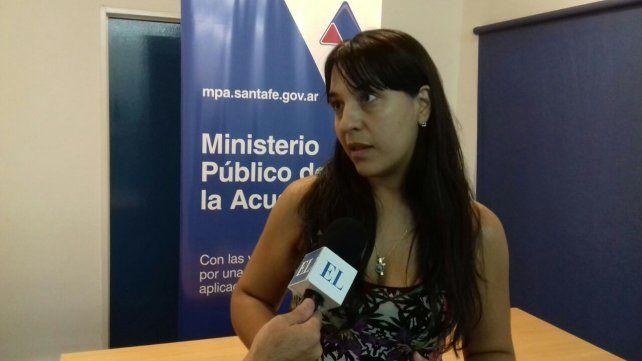 La fiscal. Del Río Ayala confirmó que los abusos ocurrieron el último mes y que podría haber más víctimas.