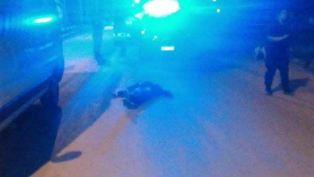 Mataron de una puñalada a un hombre en San Lorenzo