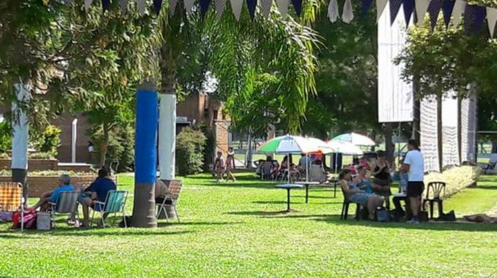 Disfrute un verano azul y blanco en Central Argentino de Fighiera