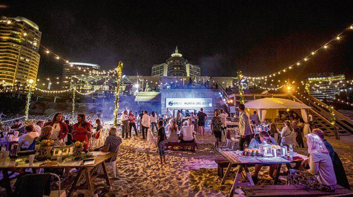 Fiesta para los sentidos en  el Enjoy  Punta del Este