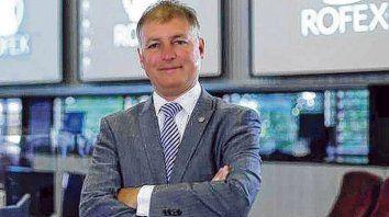 Sin techo. El rosarino Andrés Ponte será el presidente de Matba- Rofex, el nuevo mercado creado tras la fusión.