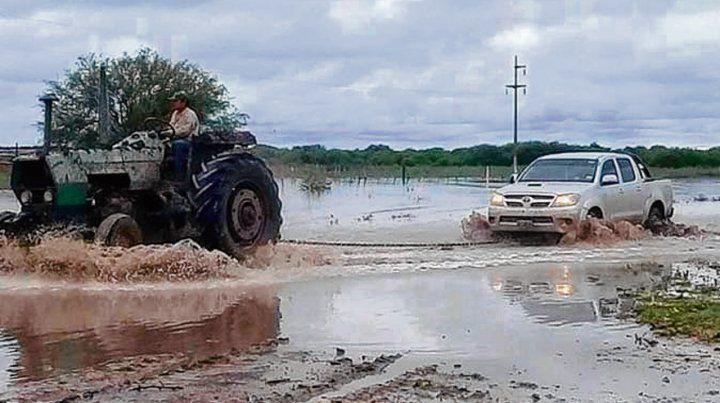 Los chacareros no salen de su asombro tras las fuertes lluvias.