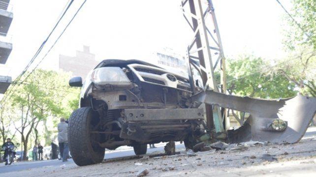 Muchas colisiones se producen aun con la participación de un solo vehículo.