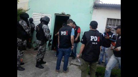 El lunes apresaron al Sordo en Luzarriaga 3900. Es del grupo de a quienes juzgan por lavado.