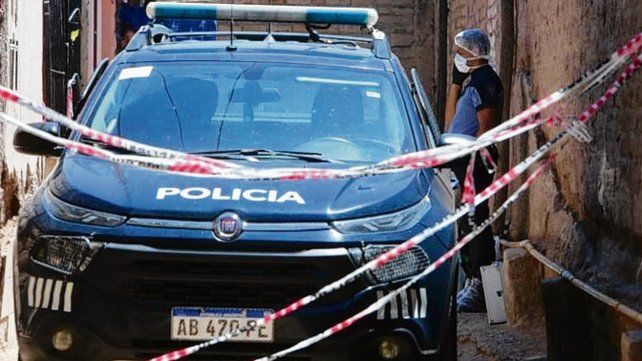 Escena. La mujer fue hallada muerta en su casa de Las Heras