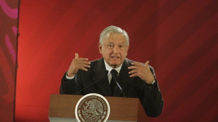desafío. López Obrador asumió el pasado 1º de diciembre.