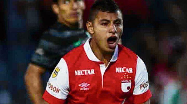 Juan Roa. El delantero colombiano quiere llegar al fútbol argentino.