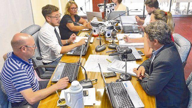 Unanimidad. La discusión del presupuesto llevó varias reuniones y finalmente los concejales consensuaron criterios.