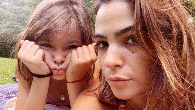 Agustina Cherri mostró el parecido de su hija Muna con Mili de Chiquititas