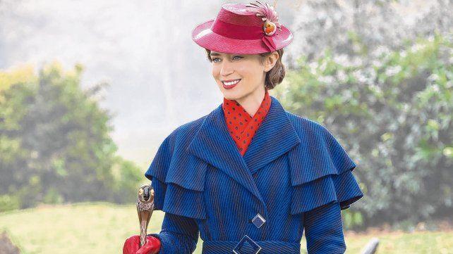 Bizarra y divertida. Así definió Blunt a su Mary Poppins. La película combina acción real