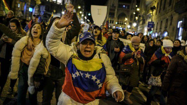 Las manifestaciones en Caracas son incesantes.
