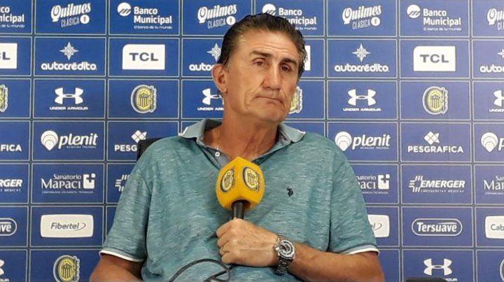 Bauza dijo que Central armó un equipo diferente al que salió campeón, con más variantes