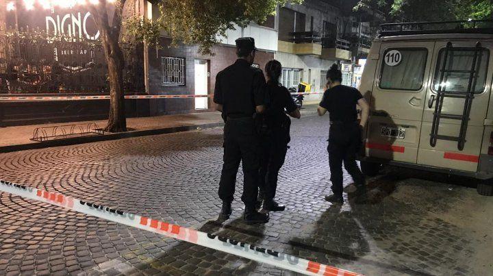 Delincuentes asaltaron una inmobiliaria y en su fuga hirieron a un cadete
