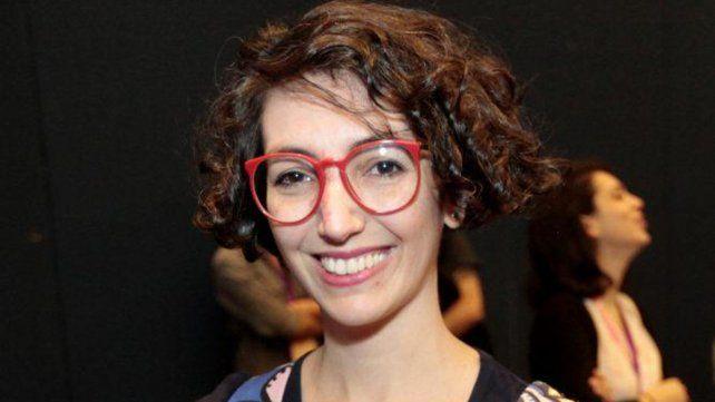 Dibujante. María Luque en Rosario