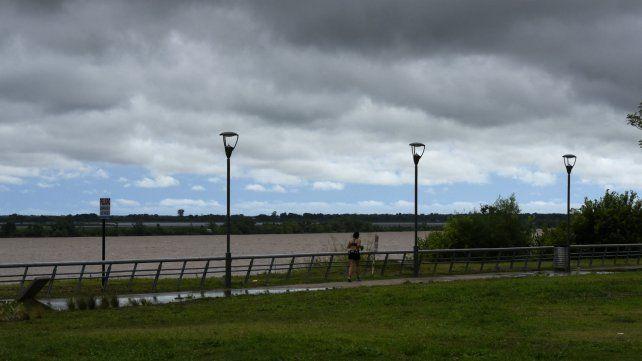 Se renovó el alerta por fuertes lluvias para el sur de Santa Fe