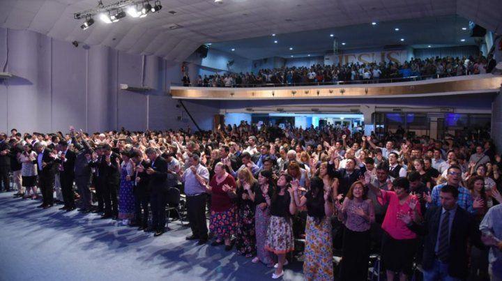 Campaña. Las iglesias expresaron alta participación contra el aborto.