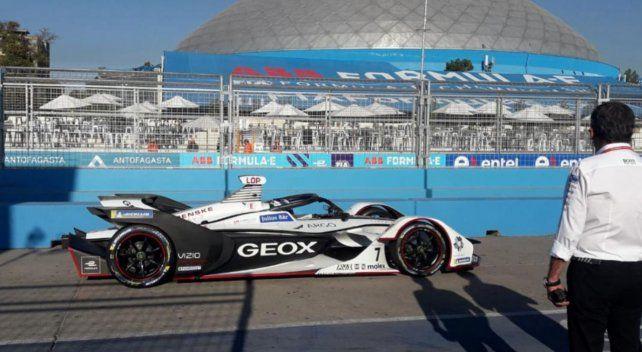 Pechito López sumó su primer punto en la Fórmula E
