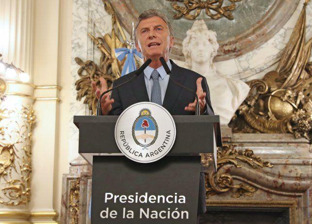 El presidente Macri irá por la reelección
