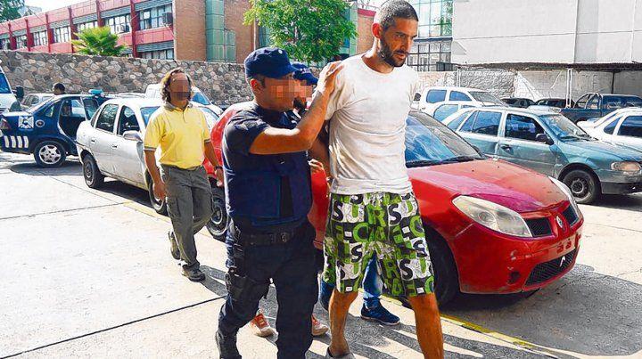 Arresto. Antes de ser detenido