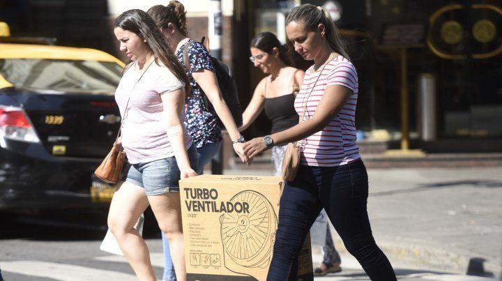 La sensación térmica en Rosario superó los 43 grados