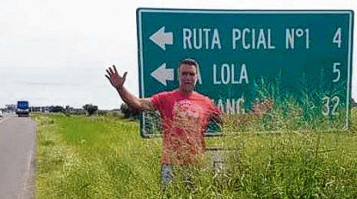 Pedido. El ex jugador solicitó mejoras en rutas del norte provincial.