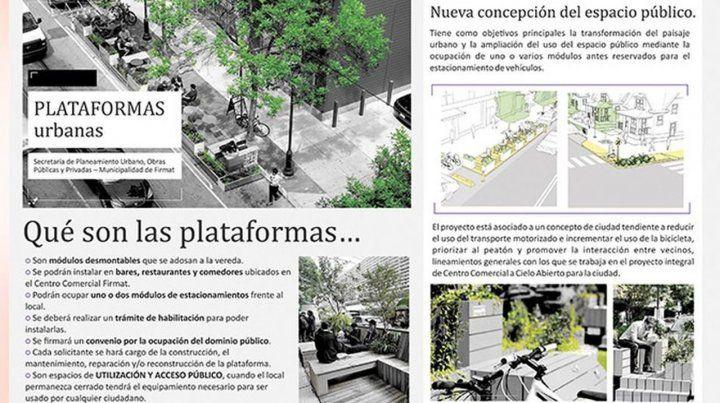 Firmat apunta a modificar su estética urbana