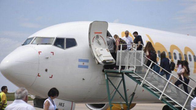 el despegue. Flybondi comenzará a operar desde Rosario en un mes.