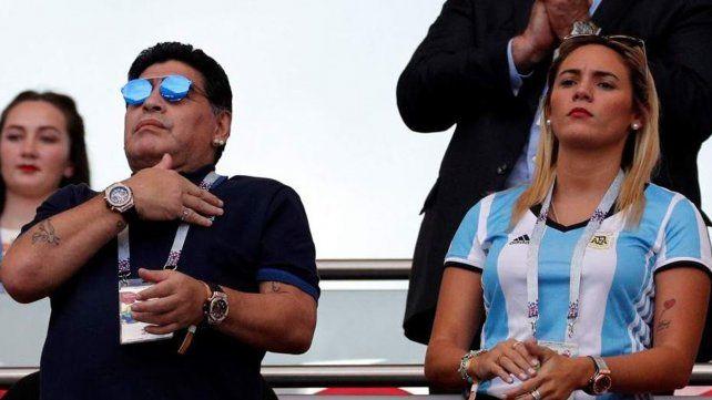 Rocío Oliva contó que la supefinal Boca-River fue detonante de la pelea con Maradona
