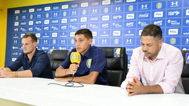 Nahuel Molina llegó a Central y quiere dejar su marca en el club