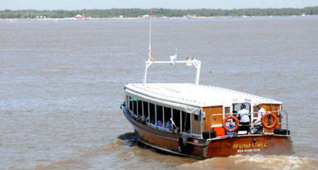 Las embarcaciones volvieron a cruzar a las islas frente a Rosario.