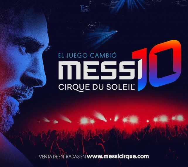 El show de Messi del Cirque du Soleil ya tiene fecha de estreno