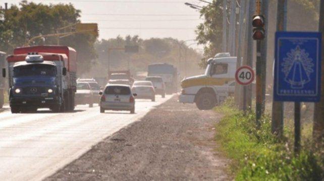 en espera. Las obras serán desde Timbúes (foto) hasta la ciudad de Avellaneda