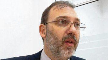 Investigador. El fiscal de homicidios de Santa Fe, Jorge Nessier.