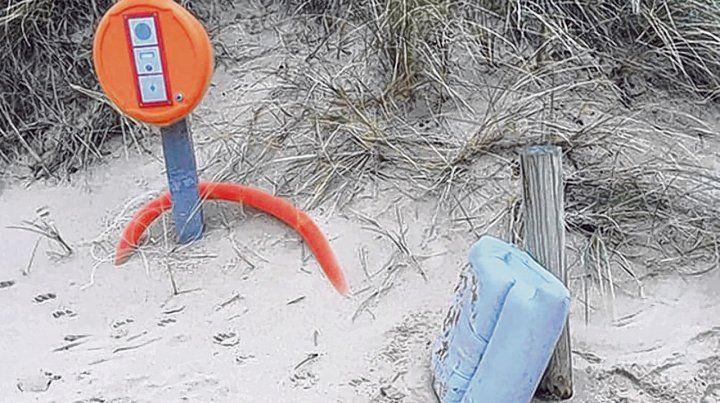 asiento. La costa donde se lo vio está cerca de la localidad de Surtainville. Es de Emiliano