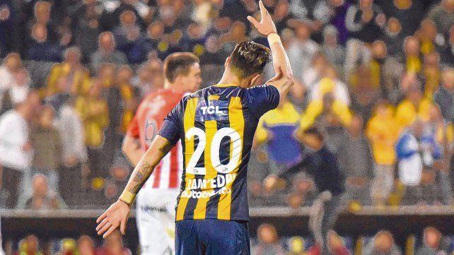 ¿Se despide? El goleador Zampedri sabrá hoy si debe armar las valijas y mudarse a Avellaneda o no.