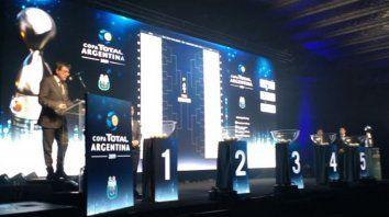 cuales seran los rivales de central y newells en copa argentina