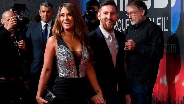 Acrobacias, baile y alfombra roja en la gala de Messi y el Cirque du Soleil