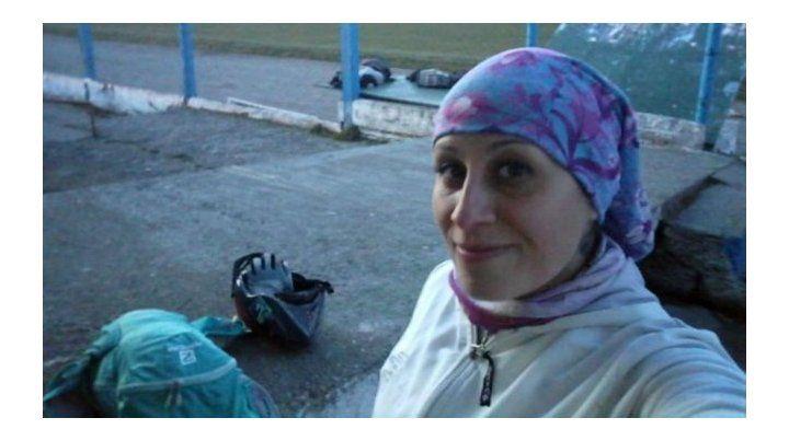 Detienen deshidratado al acusado del femicidio de Valeria Coppa en Bariloche