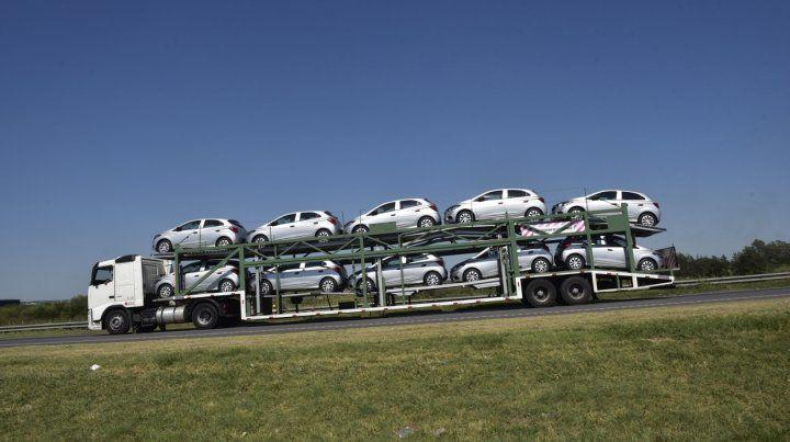 Recesión. La venta de autos 0 Km sufre por la crisis económica.