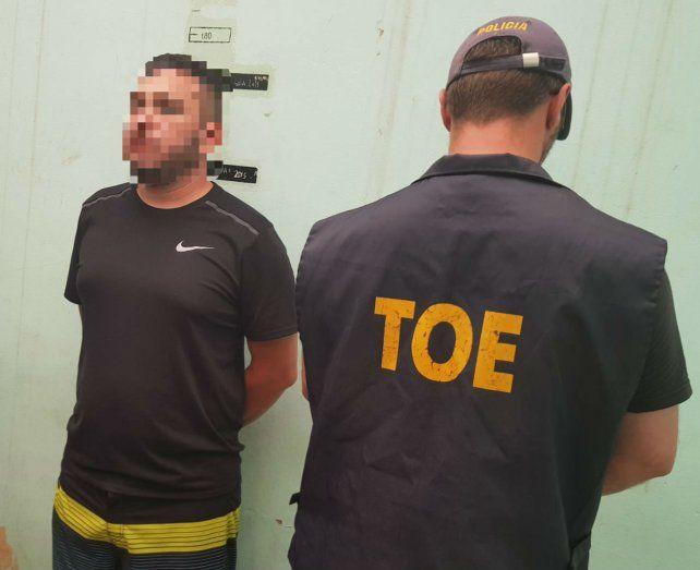Detuvieron a Esteban Alvarado, un presunto narco que está acusado de asesinato