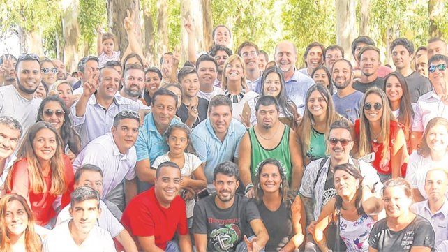 reconocimiento. Perotti y Rodenas resaltaron la participación política de los jóvenes y las mujeres.