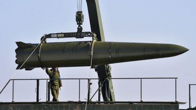 Denuncia. El misile de crucero SSC-8 de Rusia