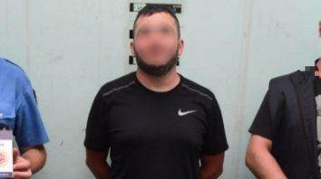 Atrapado. Alvarado tenía pedido de captura por su presunta participación en el homicidio de Lucio Maldonado.