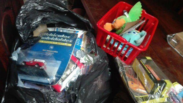 Allanaron una vivienda de barrio Plata y recuperan objetos robados a canillitas