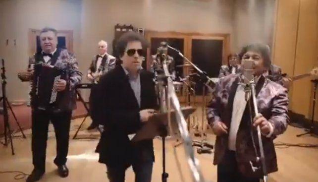 Andrés Calamaro y Los Palmeras grabaron el tema