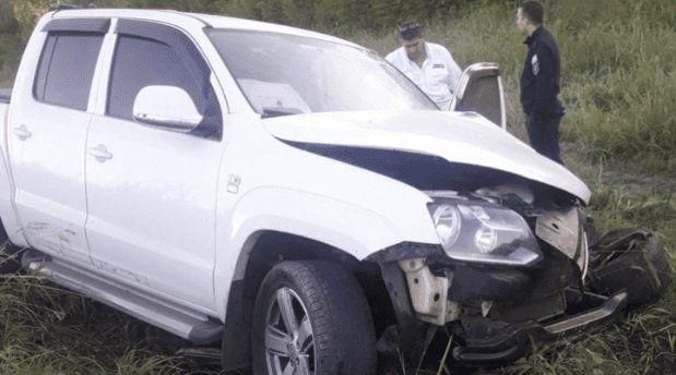 La camioneta era manejada por una joven de 21 años. (Foto: Big Bang News)