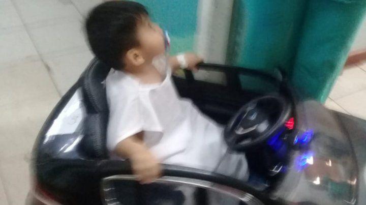 Un auto eléctrico para llevar a los niños al quirófano del hospital Zona Norte