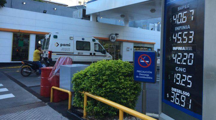 YPF aumentó en un 1,6 por ciento el precio del combustible